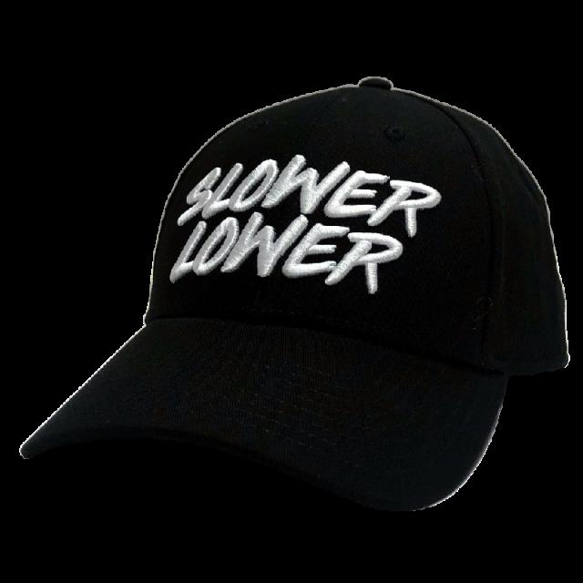 Jimmie Allen Black Ballcap- Slower Lower