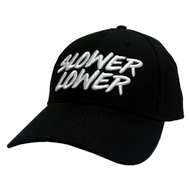 Jimmie Allen Black Ballcap- Slower Lower